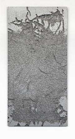 'Sunk' no. 7 Aluminium cast 120x60x3cm 2015