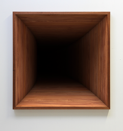 'Void' no. 4 Fine art print on hahnemuhle paper, dibond, museum glass and mahogany frame 2016