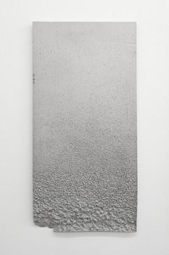 'Sunk' no. 1 Aluminium cast 120x60x3cm 2015