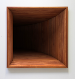 'Void' no. 2 Fine art print on hahnemuhle paper, dibond, museum glass and mahogany frame 2016