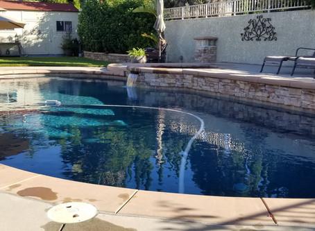 Backyard swimming during covid