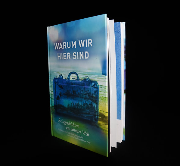 Hardcover book WHY WE ARE HERE