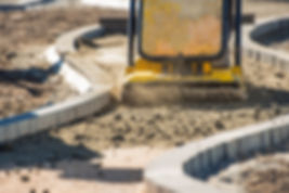 residential asphalt concrete pavers landscaping