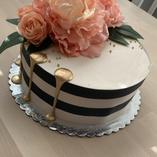 Modern floral & edible wrap
