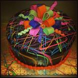 Neon Splatter Birthday