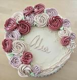 Rosette floral birthday
