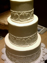 Simple Beauty Tiered Cake