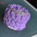 Lavender birthday tiara