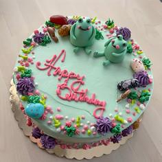 Frog theme birthday
