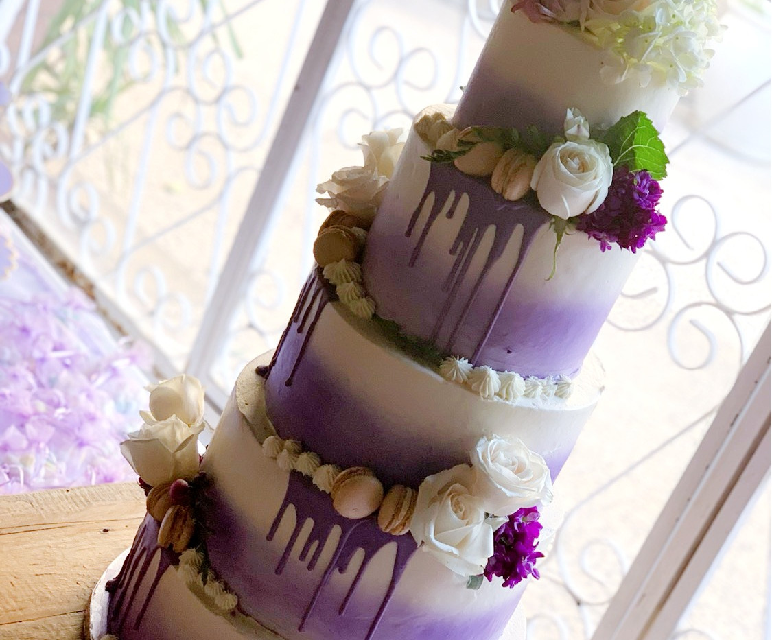 Five tiered lavender drip
