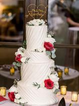 Desert white wedding