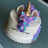 Pink, purple, and teal Unicorn