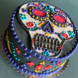 Dios De Los Meurtos Cake
