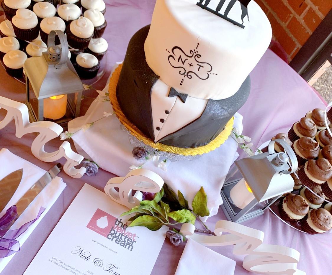 Tiered LGBT wedding