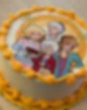 Golden girls birthday cake
