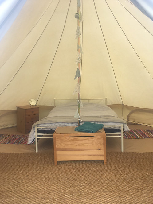 2 person Luxury Bell Tent hire TRF21