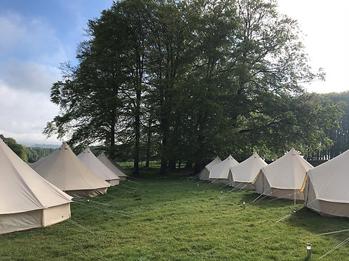 4 person Luxury Bell Tent hire TRF21