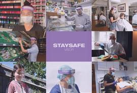 Creative Advertising - Stay Safe Visor