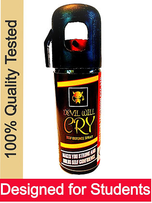 """Devil Will Cry"" best self defence pepper spray (normal 5%)"