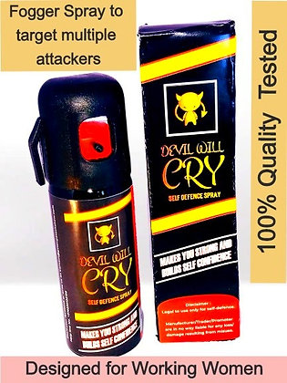 Devil Will Cry self defence pepper spray (working women 7%+tear agent)