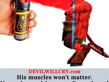 What's the expiry period of devil will cry pepper spray?
