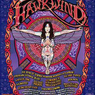 HAWKWIND TRIBUTE POSTER