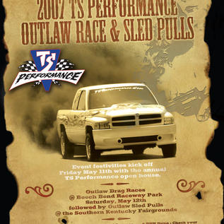TS Performance Outlaw Sled Pull Ad