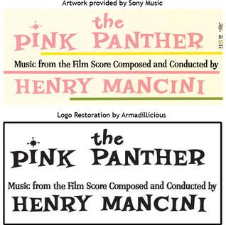 PINK PANTHER LOGO RESTORATION