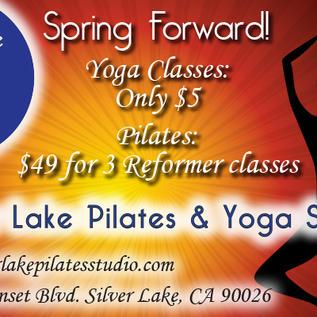 Silver Lake Pilates Ad Banner