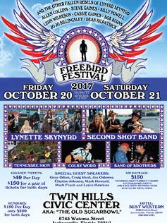 FREEBIRD FESTIVAL EVENT POSTER