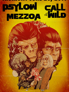 MEZZOA EVENT POSTER