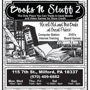 Books N Stuff 1/4 Page Newspaper Ad