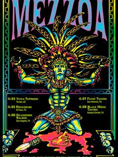MEZZOA TOUR POSTER