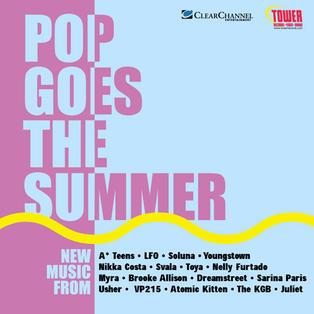 ALBUM NETWORK SUMMER POP SAMPLER