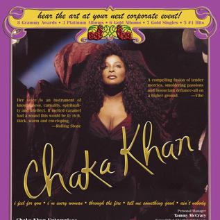 Chaka Khan One-Sheet