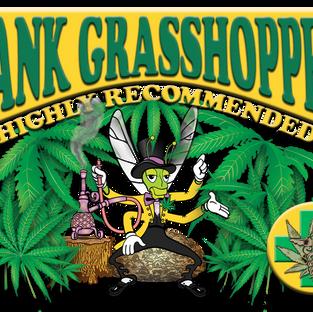 DANK GRASSHOPPER STICKER