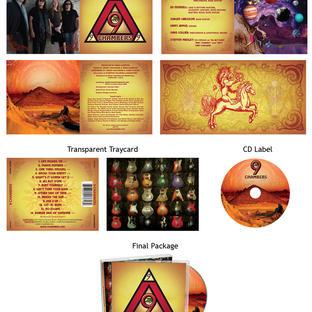 9 Chambers CD Packaging