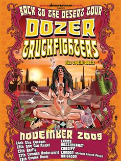 DOZER/TRUCKFIGHTERS TOUR POSTER