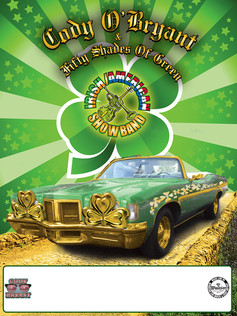 CODY BRYANT ST. PATRICK'S DAY EVENT POSTER