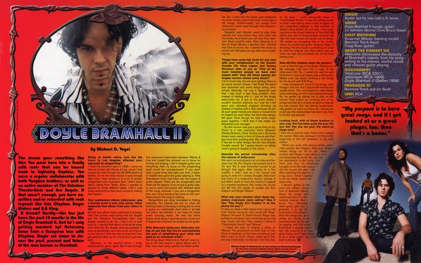 DOYLE BRAMHALL INTERVIEW