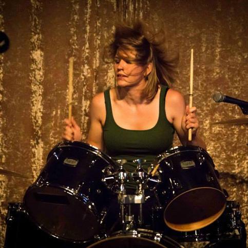MINDEE JORGENSEN - Drums, Percussion & Backing Vocals