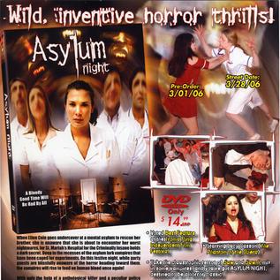 Asylum Night One-Sheet
