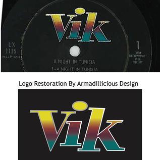 Vik Records Logo Restoration