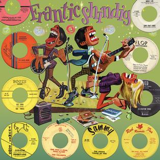 FRANTIC SHINDIG ALBUM COVER