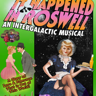 IT HAPPENED IN ROSWELL PROGRAM COVER