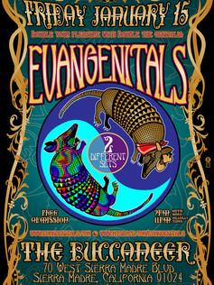 EVANGENITALS EVENT POSTER