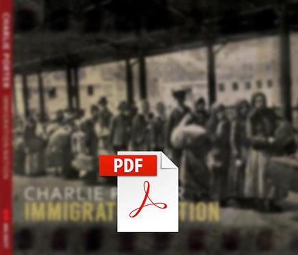 Immigration Nation Album Sheet Music Digital Download
