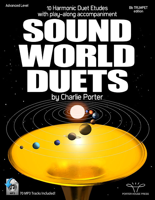 Sound-World Duets: 10 Harmonic Duet-Etudes with Play-along (digital download)