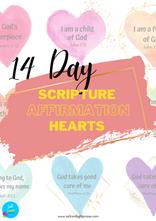 Scripture Affirmation Hearts
