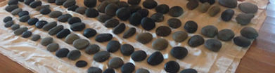 Traditional therapeutic Hawaiian hot stone massage